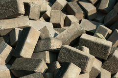 Pile of Flemish bricks Royalty Free Stock Photography