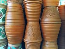 Pile of Flowerpots Stock Image
