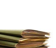 Pile of folders Stock Photos