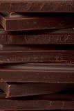 pile foncée de chocolat Photos stock
