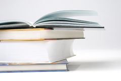 A pile of Four book Stock Photography