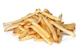 Pile of french fries Royalty Free Stock Photos
