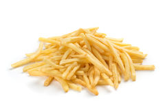 A pile of french fries Stock Image
