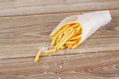 Pile of french fries  potato Stock Photo