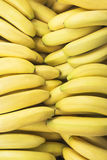 Pile of fresh bananas Stock Photos