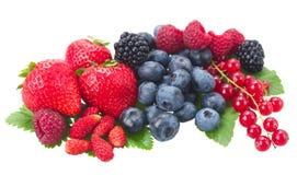 Pile  of fresh berries Stock Photo