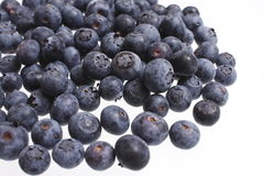 Pile of fresh blueberries Royalty Free Stock Image