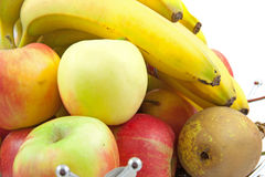 Pile of fresh fruits Royalty Free Stock Image