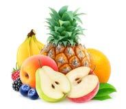 Pile of fresh fruits Royalty Free Stock Photos