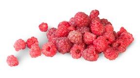 Pile Of Fresh Juicy Raspberries Stock Photos
