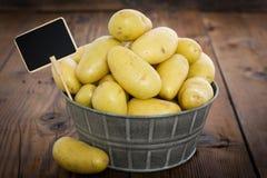 Pile of fresh organic potatoes Stock Images