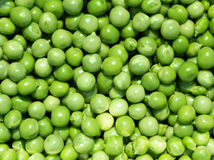 Pile of fresh peas Royalty Free Stock Photo