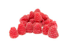 Pile of fresh raspberries Stock Image