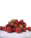 Pile of fresh ripe strawberries Stock Images