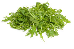 Pile of fresh Ruccola lettuce Stock Photography