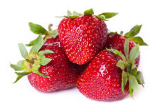 Pile of fresh strawberries Stock Photography