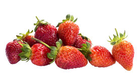 Pile of Fresh strawberry Royalty Free Stock Photos
