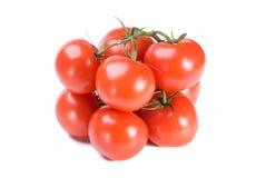 Pile of fresh tomatoes Stock Photo