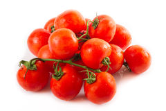Pile of fresh tomatoes Royalty Free Stock Images