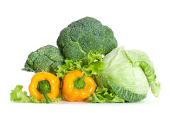 Pile of fresh vegetables Royalty Free Stock Photo