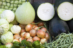 A pile of fresh vegetables Stock Photography
