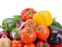 Pile  of fresh vegetables Royalty Free Stock Image