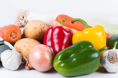 A pile of fresh vegetables Royalty Free Stock Photography