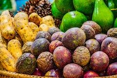 Pile of fruit. stock photos