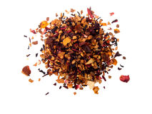Pile of fruit tea Stock Images