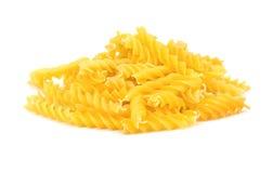 Pile of fusilli pasta Stock Photography