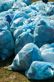 Pile of garbage bags Royalty Free Stock Photo