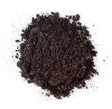 Pile of garden soil Royalty Free Stock Images