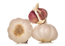 Pile of garlic cloves Stock Photography