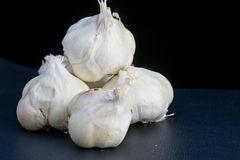 Pile of garlic clusters Stock Photography