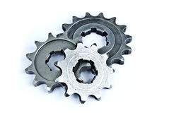 Pile of gears Stock Photography