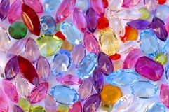 Pile of gems Stock Photo