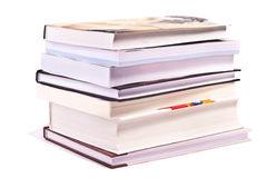 Pile of gift books Stock Photos