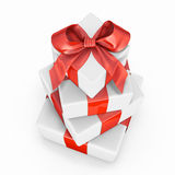 Pile of gift boxes Stock Images