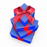 Pile of gift boxes Royalty Free Stock Image