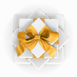Pile of gift boxes Royalty Free Stock Images