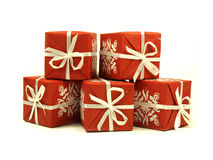 Pile Gifts Royalty Free Stock Photos