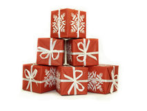 Pile of Gifts Stock Image