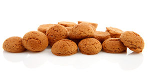 Pile of ginger nuts Royalty Free Stock Image