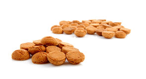 Pile of ginger nuts royalty free stock images