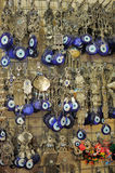 A pile of Glass Evil Eye Amulet Stock Images