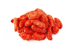 Pile goji berry Stock Images