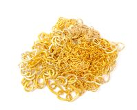 Pile of gold Stock Images