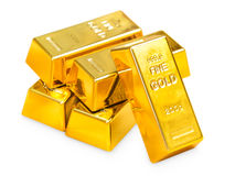 Pile of gold Stock Image
