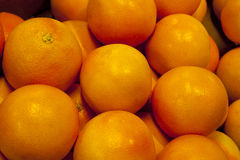 Pile of Grapefruits. In Market Royalty Free Stock Image