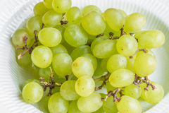 Pile of grapes in a bowl Stock Photo